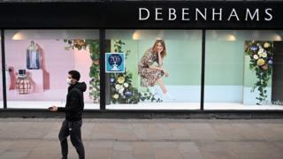 Debenhams to cut 2,500 jobs amid pandemic