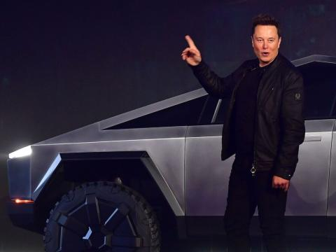 Elon Musk says Tesla will create a normal pickup truck if the Cybertruck doesn't sell, as a 'fallback strategy' (TSLA)