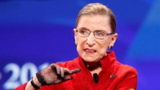 Ruth Bader Ginsburg: US Supreme Court judge dies of cancer aged 87