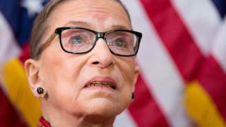 Ruth Bader Ginsburg in pictures and her own words