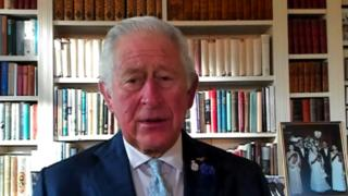 Prince Charles leads tributes to police officers killed on duty
