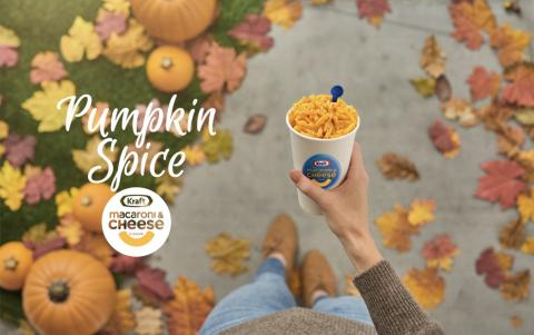 Only 1,000 boxes of Pumpkin Spice mac and cheese are being raffled off by Kraft, which says it's 'trolling the classic PSL' from Starbucks