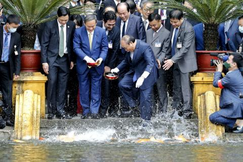 Japan, Vietnam agree to boost defense, economic, energy ties