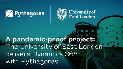 A pandemic-proof project: The University of East London delivers Dynamics 365 with Pythagoras