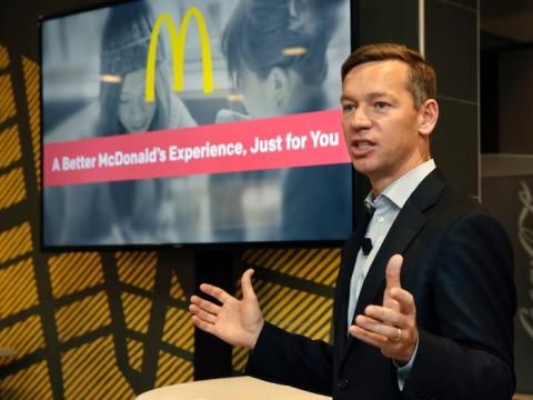 McDonald's CEO says it's 'very clear' that America needs another stimulus package